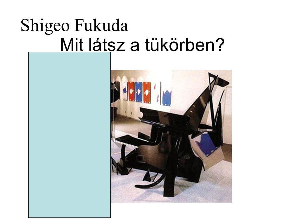 Shigeo Fukuda Mit látsz a tükörben?