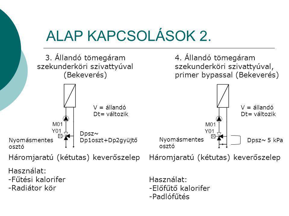 ALAP KAPCSOLÁSOK 3.5.