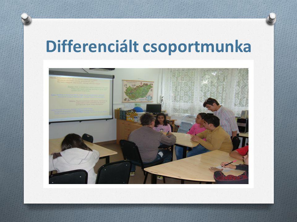 Differenciált csoportmunka