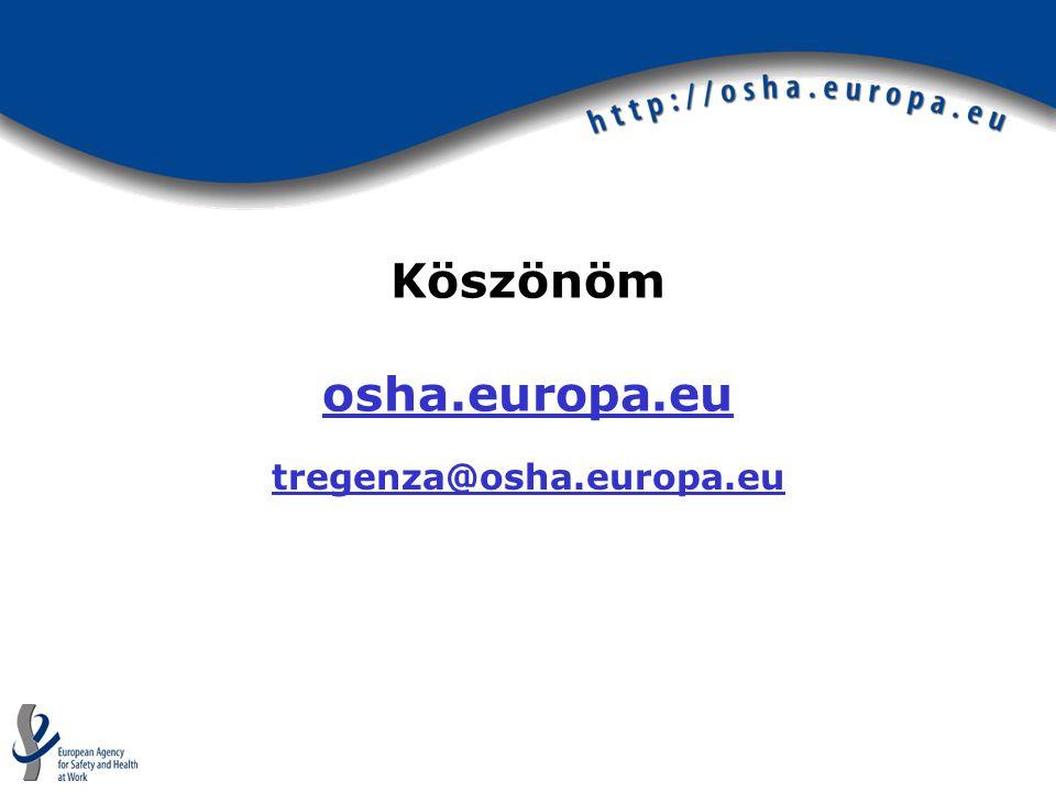 Köszönöm osha.europa.eu osha.europa.eu tregenza@osha.europa.eu
