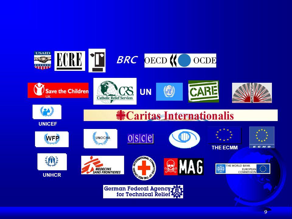 9 BRC UN UNHCR UNICEF WFP UNOCHA THE ECMM IOM
