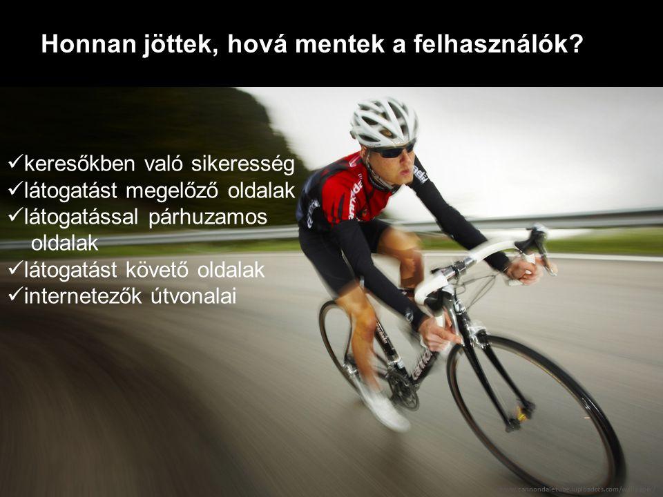 A látogatók szegmentálhatóak Fotó: Paweł Urbaniak viselkedés alapján (light vs heavy user, vásárló vs nem v.) viselkedésük (pl.