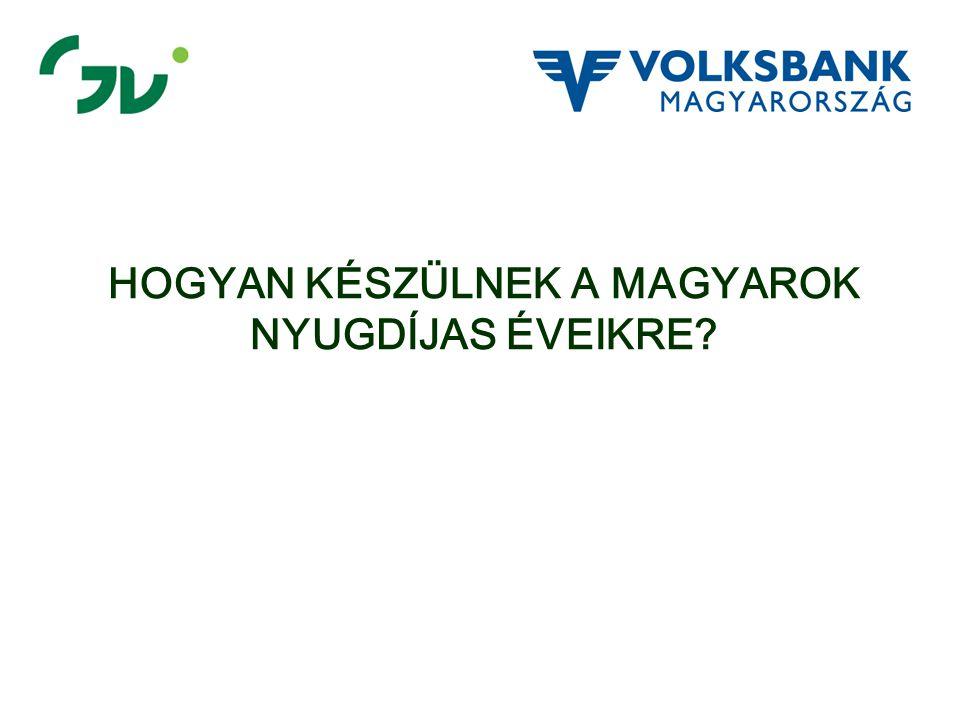 A magyarok fele nem, vagy alig törődik a nyugdíjjal