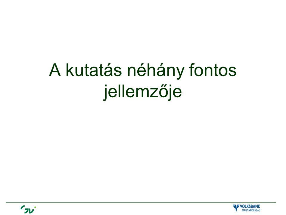 Finanszírozó: Volksbank Zrt.Kutató:Gazdaság- és Vállalkozáselemző Intézet (GVI) Időpont:2007.
