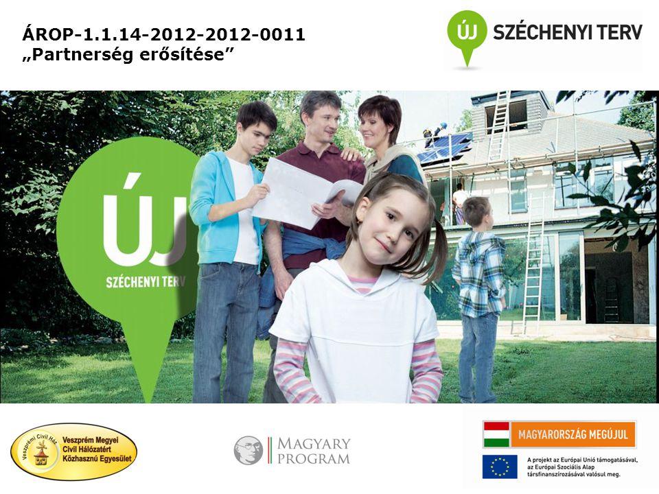 """ÁROP-1.1.14-2012-2012-0011 """"Partnerség erősítése"""