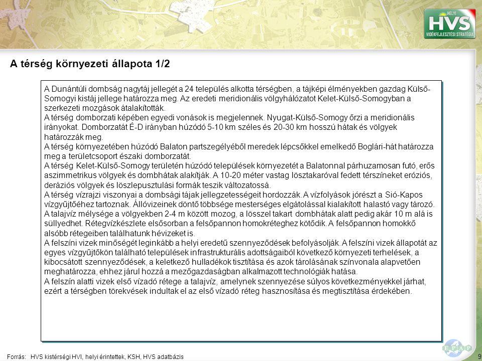 9 A Dunántúli dombság nagytáj jellegét a 24 település alkotta térségben, a tájképi élményekben gazdag Külső- Somogyi kistáj jellege határozza meg. Az