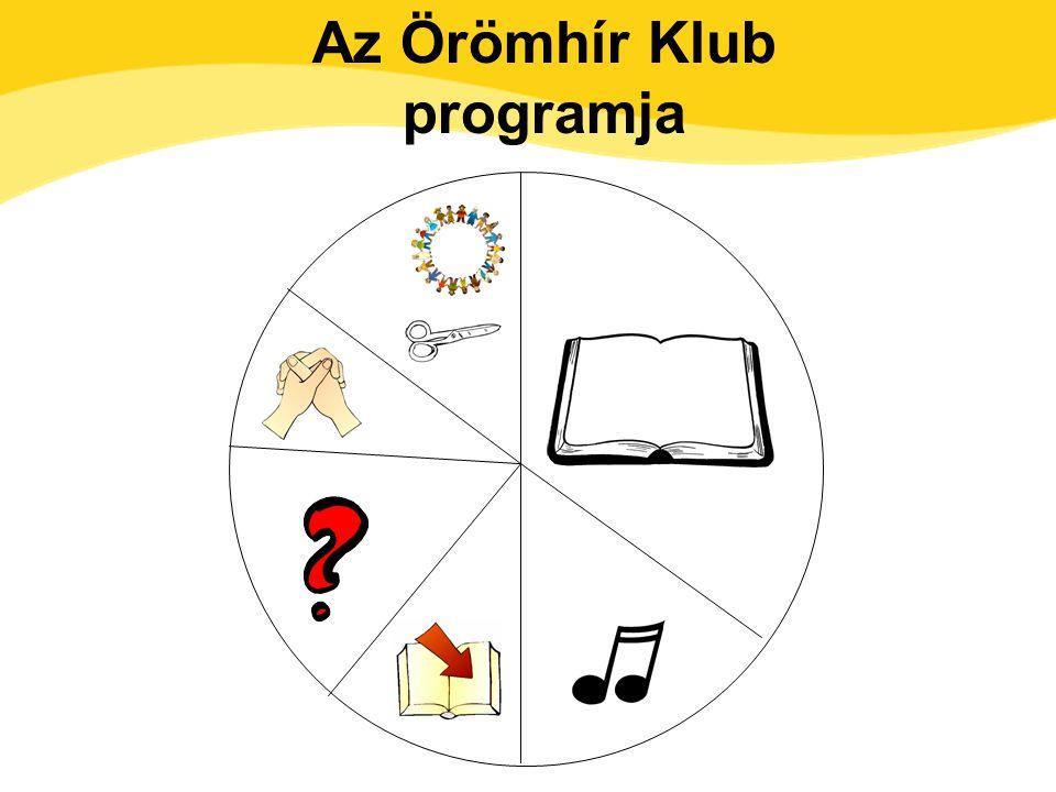Az Örömhír Klub programja