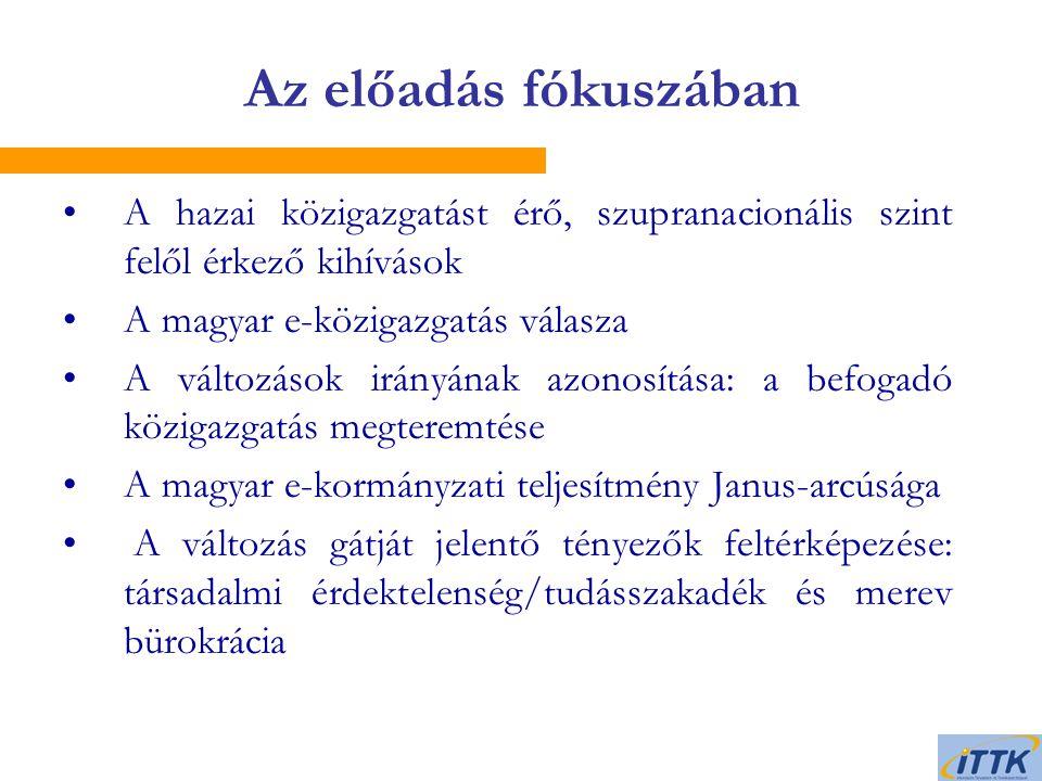 Janus-arcú magyar e-kormányzati teljesítmény