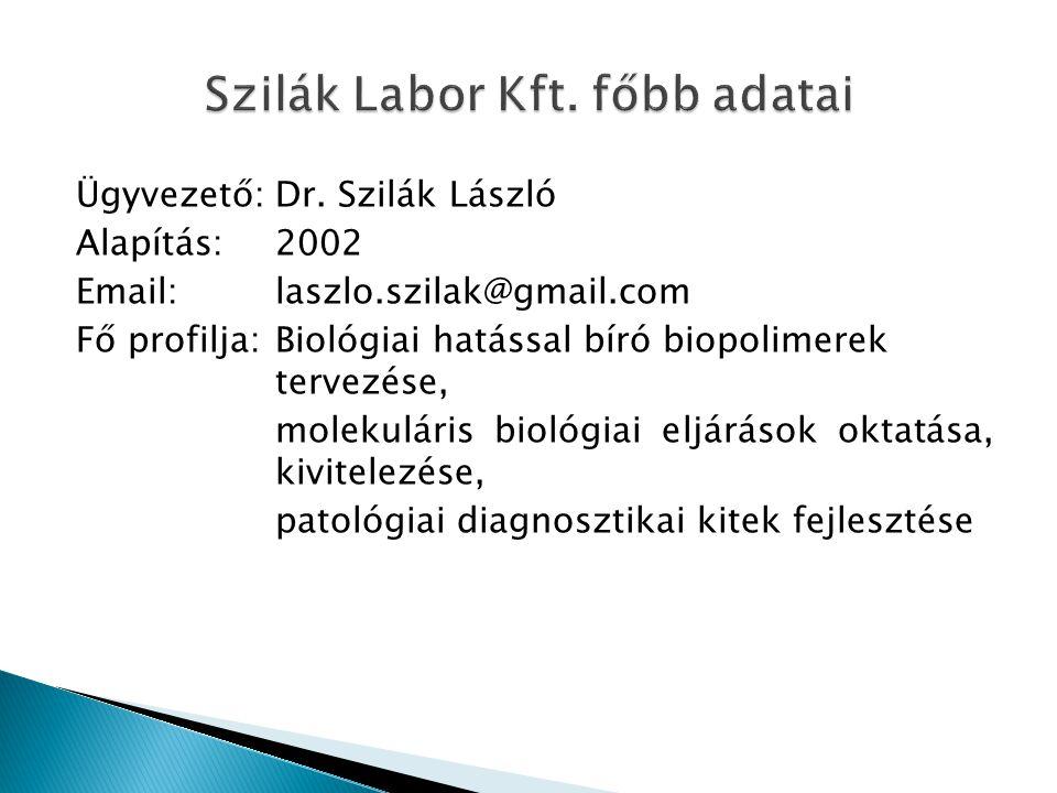 Ügyvezető:Dr.