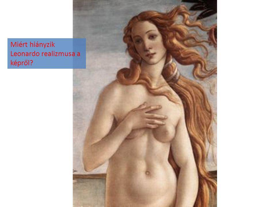 Miért hiányzik Leonardo realizmusa a képről?