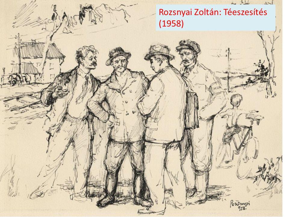 Rozsnyai Zoltán: Téeszesítés (1958)