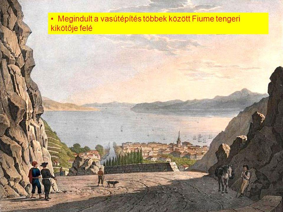 Megindult a vasútépítés többek között Fiume tengeri kikötője felé