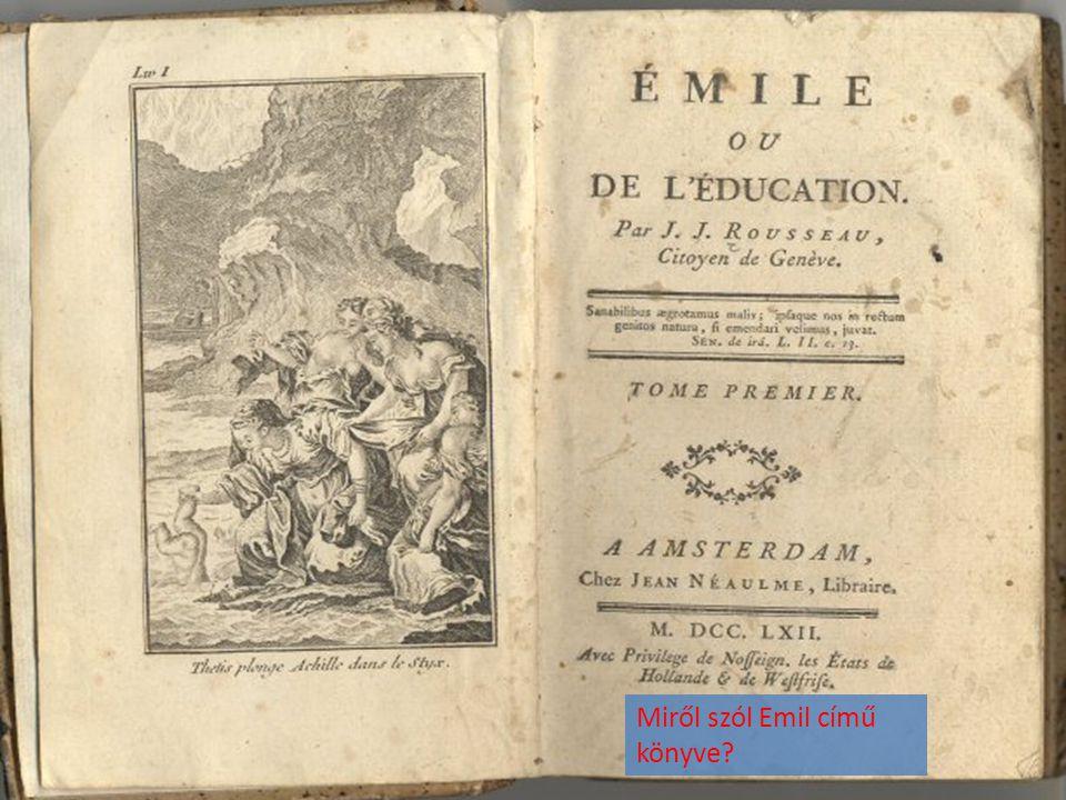 Miről szól Emil című könyve?