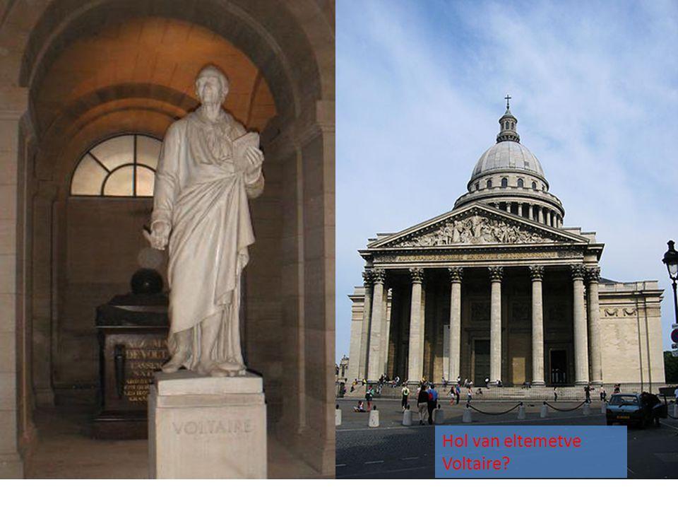 Hol van eltemetve Voltaire?