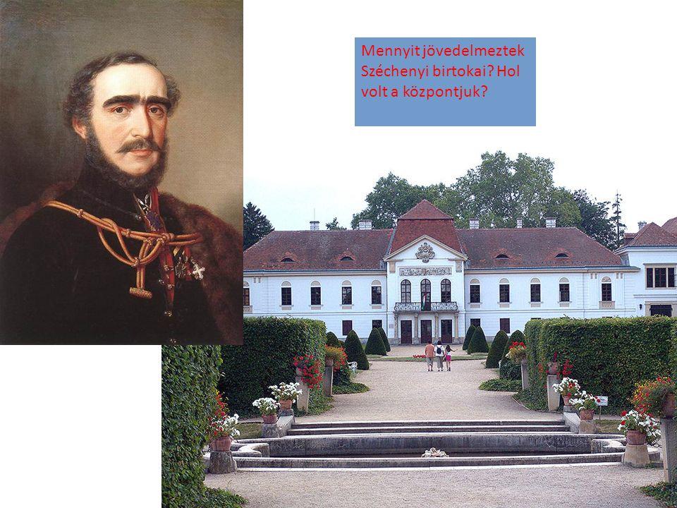 Említs még néhányat Széchenyi műveiből!