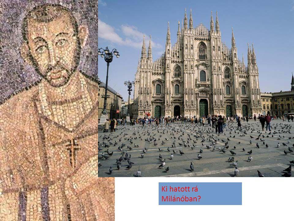 Ki hatott rá Milánóban?