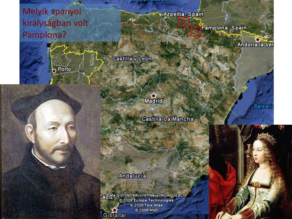 Melyik spanyol királyságban volt Pamplona?