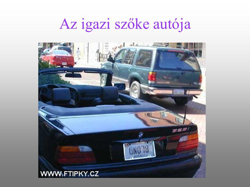 Az igazi szőke autója