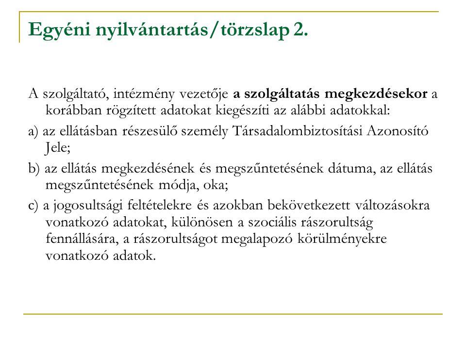 Fontos tudnivalók a nyilvántartással kapcsolatban (1993.