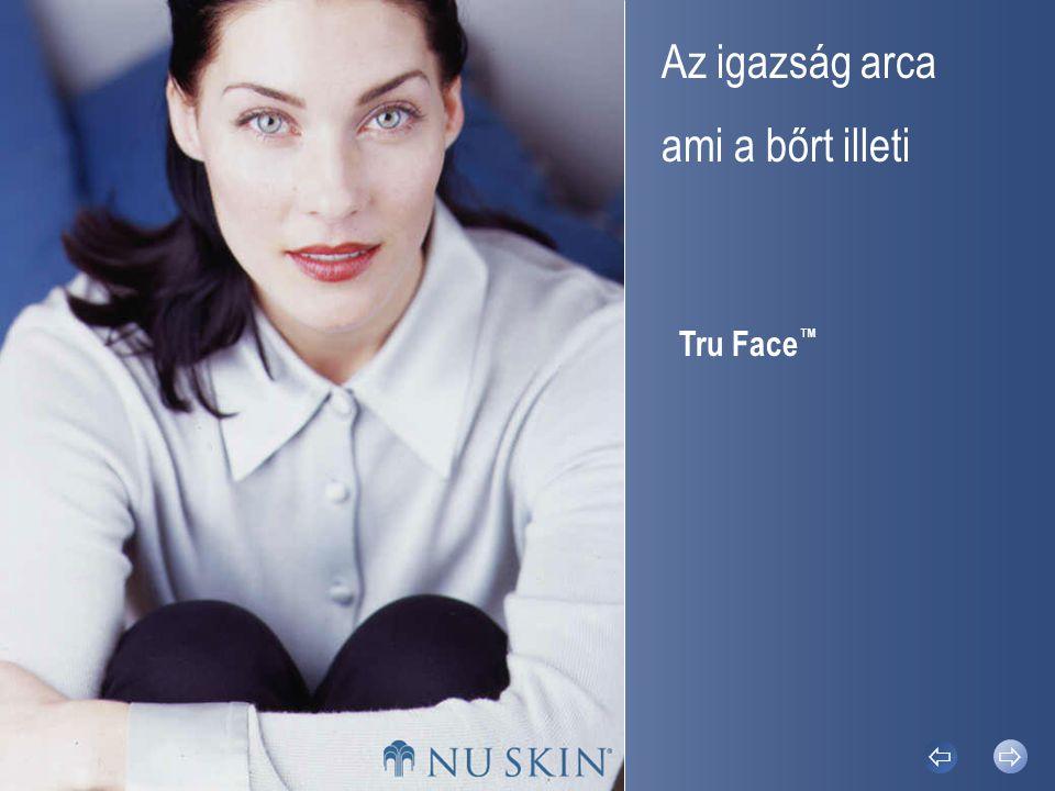 Az öregedés folyamatának gyorsítóiIgaz tényekTru Face ™ Bőrápoló GélTru Face ™ Ráncsimító Tru Face ™    © 2002 Nu Skin ® Igaz tények A bőre oltalmazza Önt.