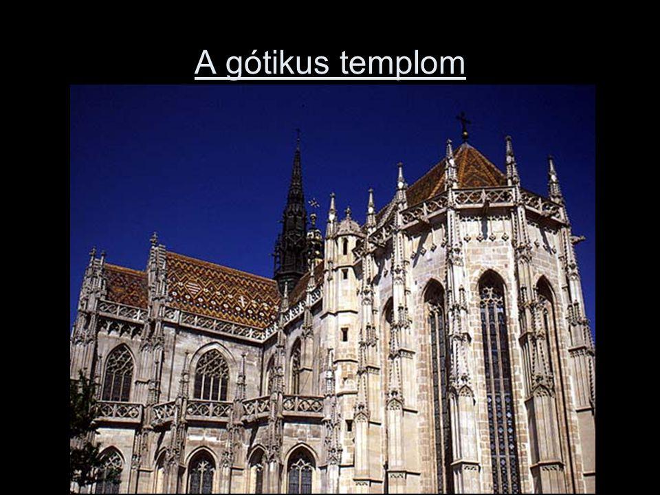A gótikus templom
