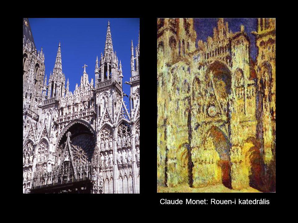 Claude Monet: Rouen-i katedrális