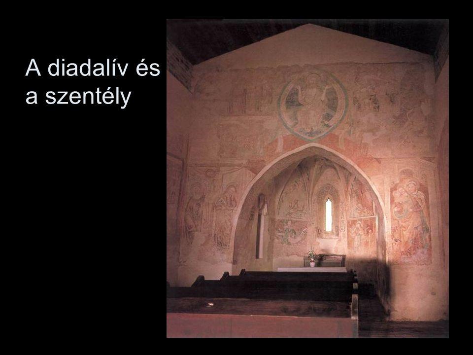 A diadalív és a szentély