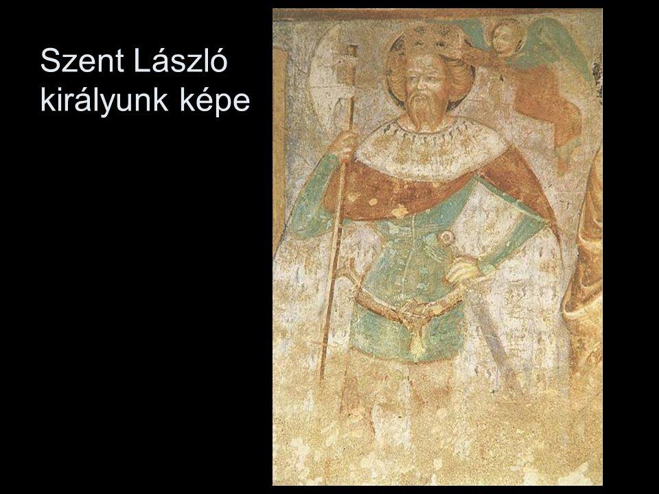 Szent László királyunk képe