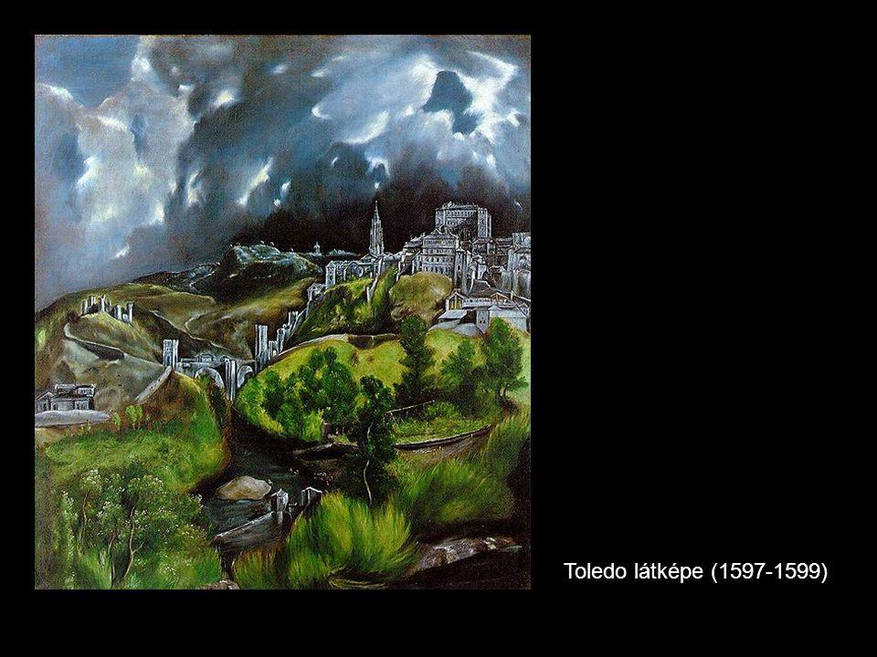 Toledo látképe (1597-1599)