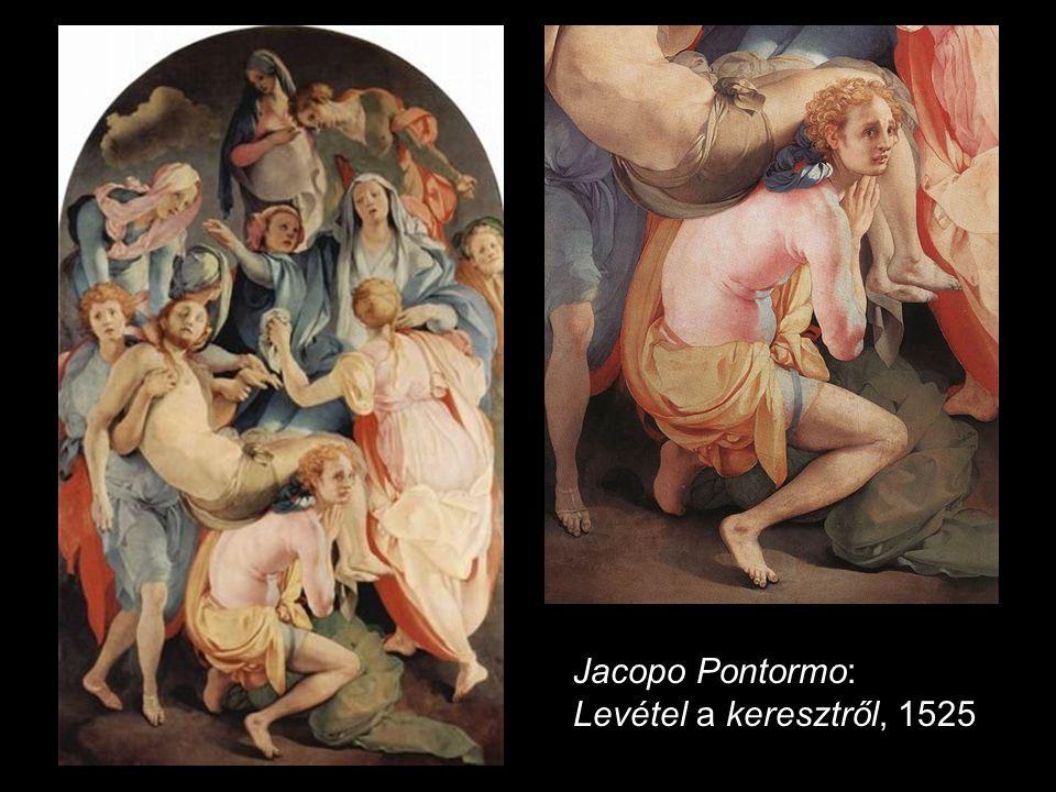 Jacopo Pontormo: Vizitáció, 1528-29 M.S. mester: Vizitáció 1506