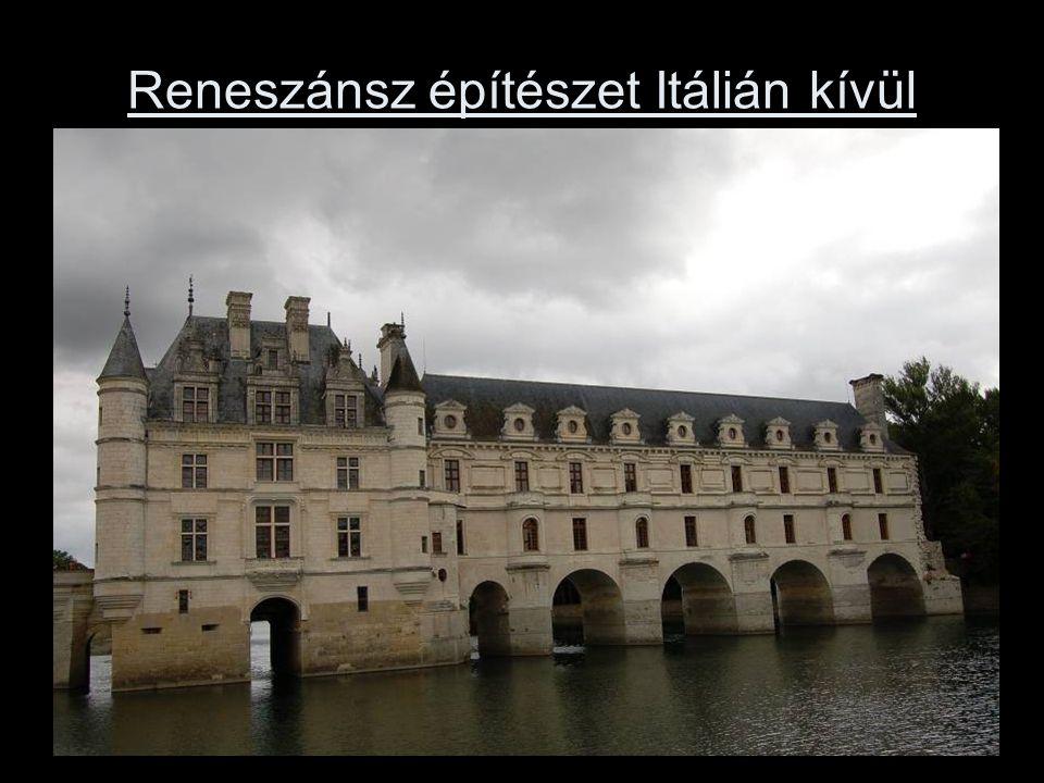 Reneszánsz építészet Itálián kívül