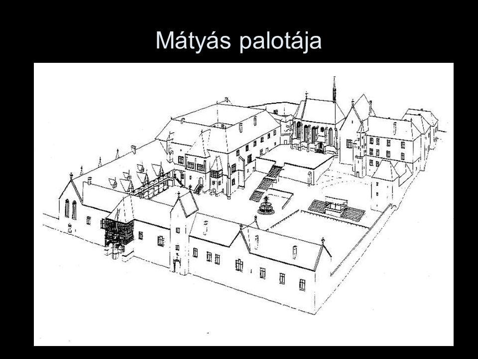 Mátyás palotája