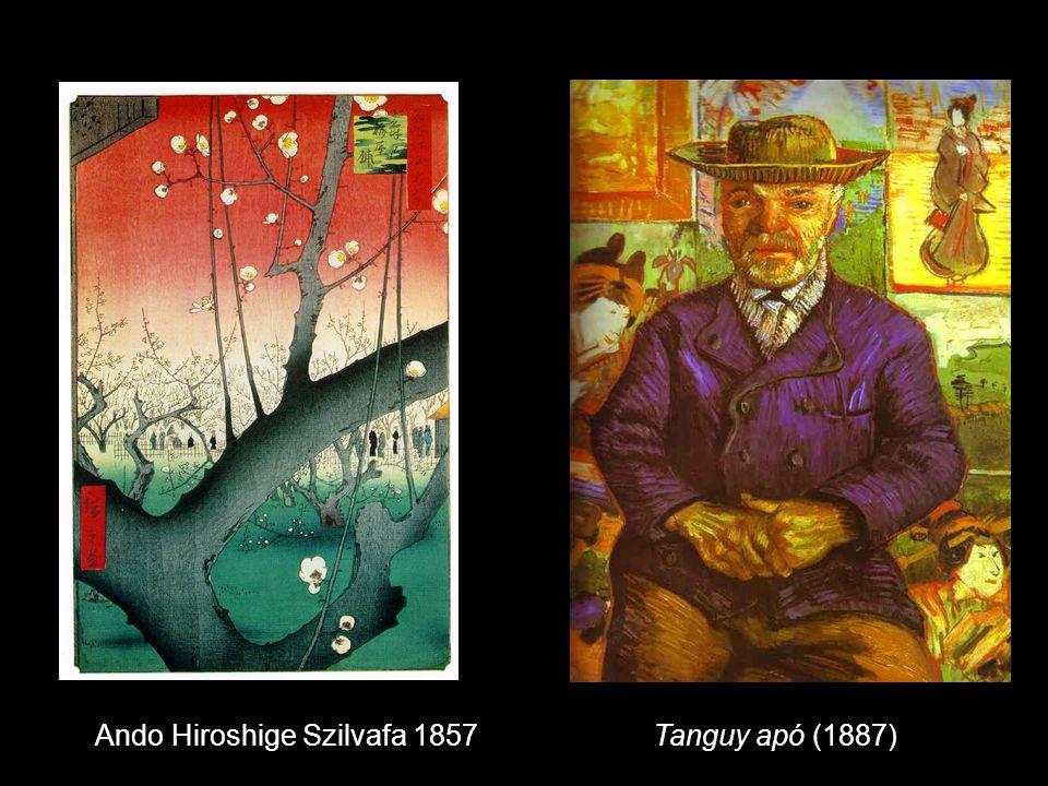 Tanguy apó (1887)Ando Hiroshige Szilvafa 1857