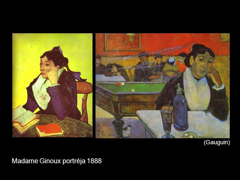 (Gauguin) Madame Ginoux portréja 1888