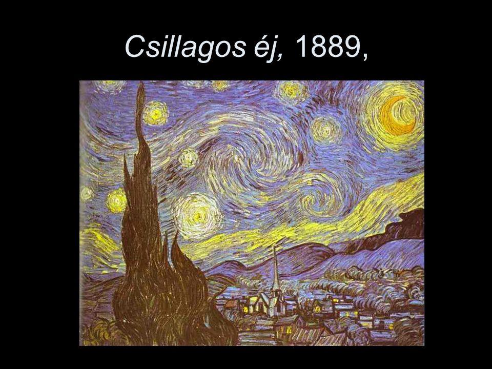 Csillagos éj, 1889,