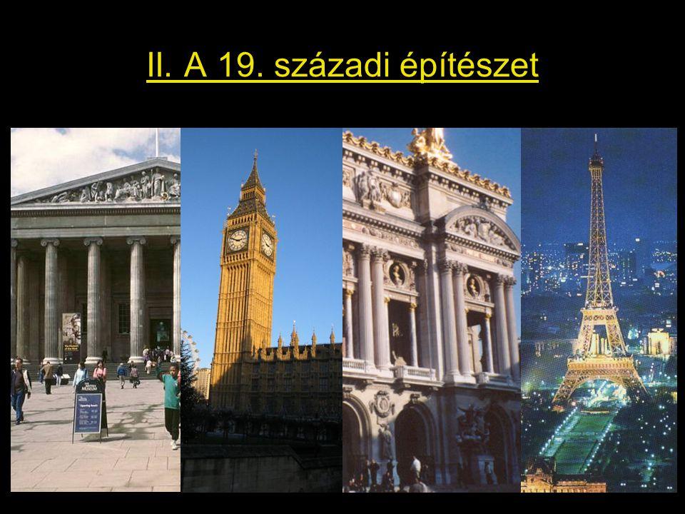 II. A 19. századi építészet
