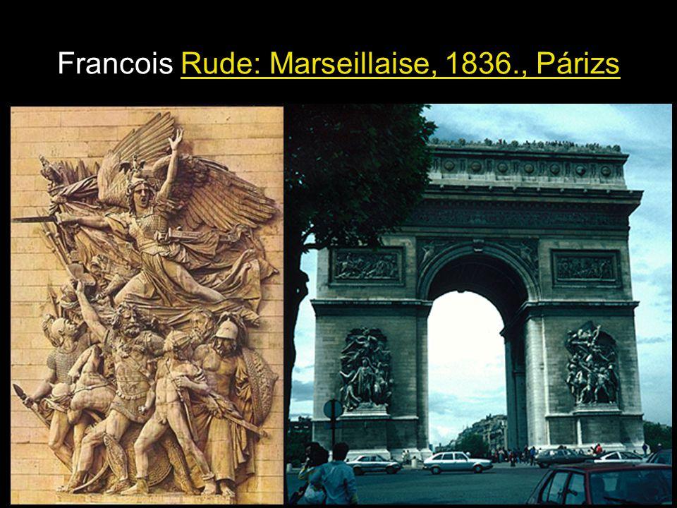 Francois Rude: Marseillaise, 1836., Párizs