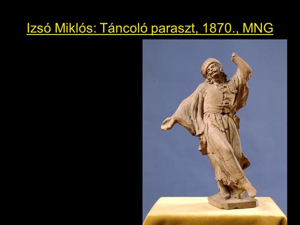 Izsó Miklós: Táncoló paraszt, 1870., MNG