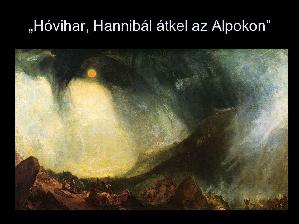 """""""Hóvihar, Hannibál átkel az Alpokon"""""""