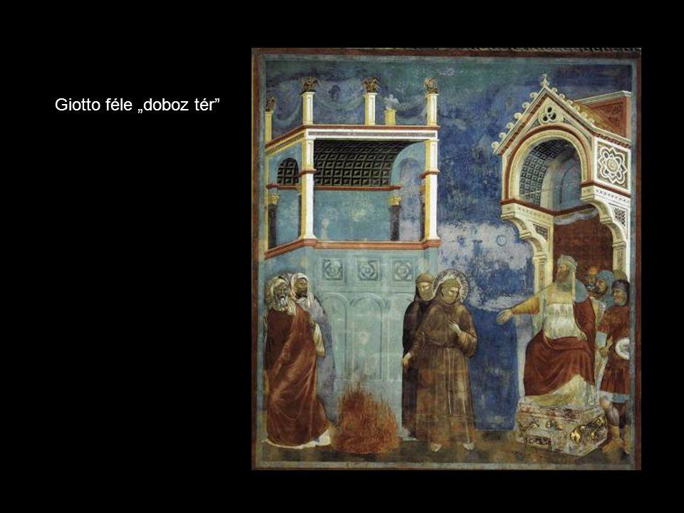"""Giotto féle """"doboz tér"""