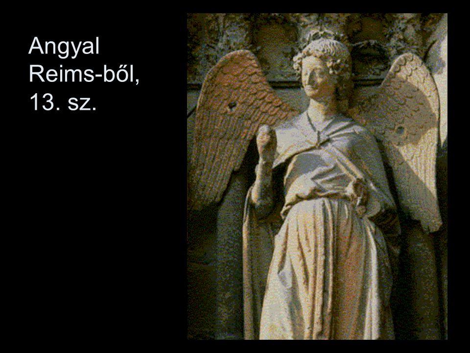 Az átszellemült lelkiségű szobrok az antik szobrászat emlékét is idézik (ruharedőzet, kontraposzt)