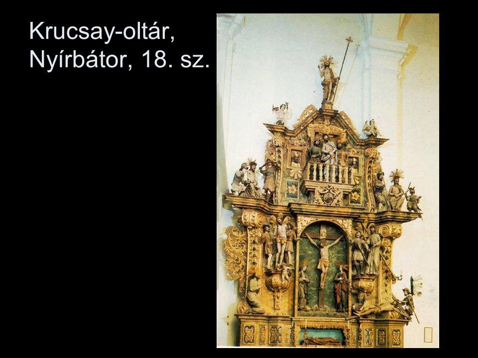 Krucsay-oltár, Nyírbátor, 18. sz.