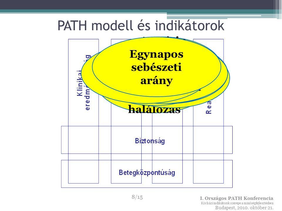 Rehabilitációs indikátorok A PATH rehabilitációs alprojekt ▫2009-ben indult, ▫nemzetközi koordináció – dr.