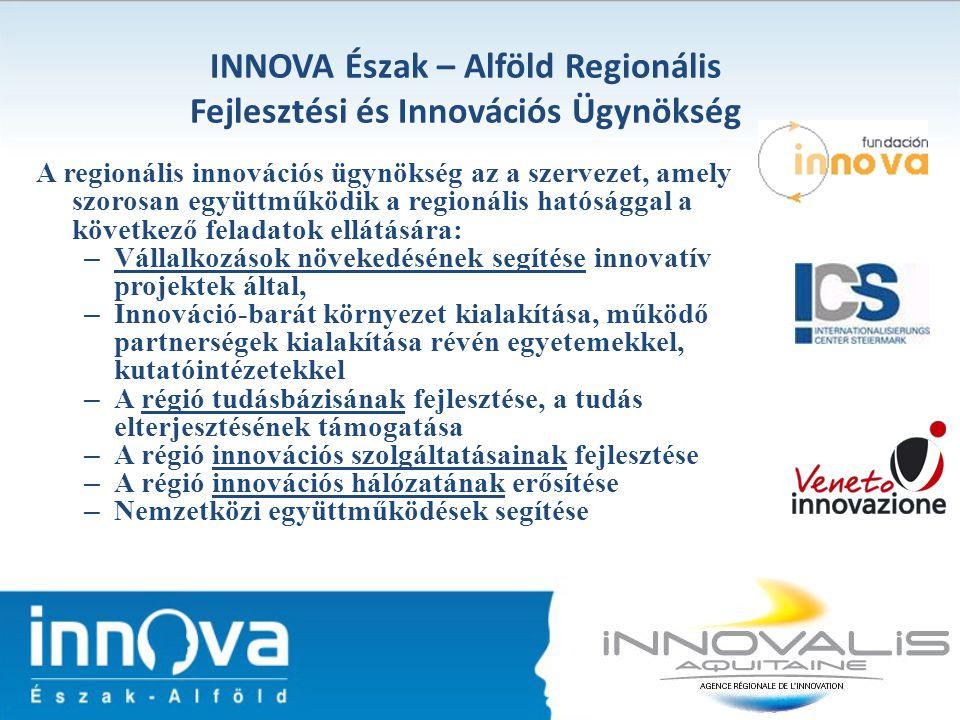 A regionális innovációs ügynökség az a szervezet, amely szorosan együttműködik a regionális hatósággal a következő feladatok ellátására: – Vállalkozás