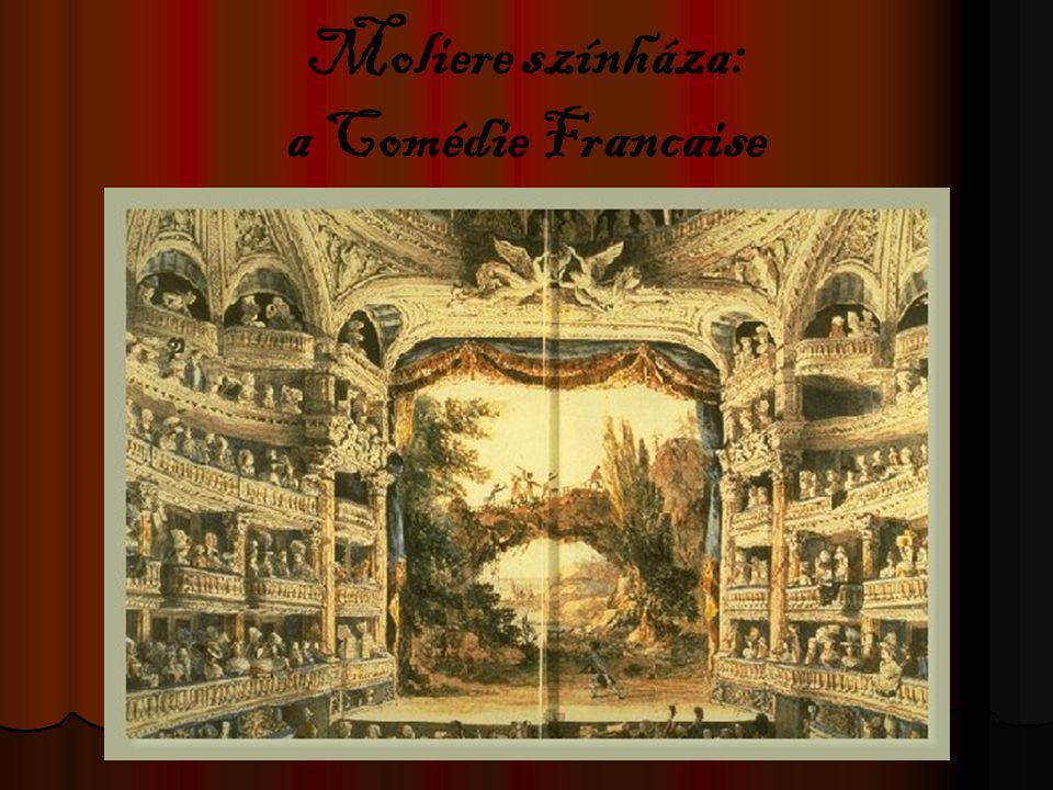 Moliere színháza: a Comédie Francaise