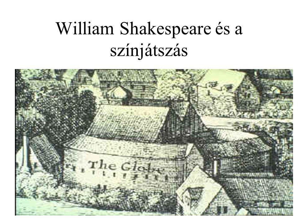 William Shakespeare és a színjátszás