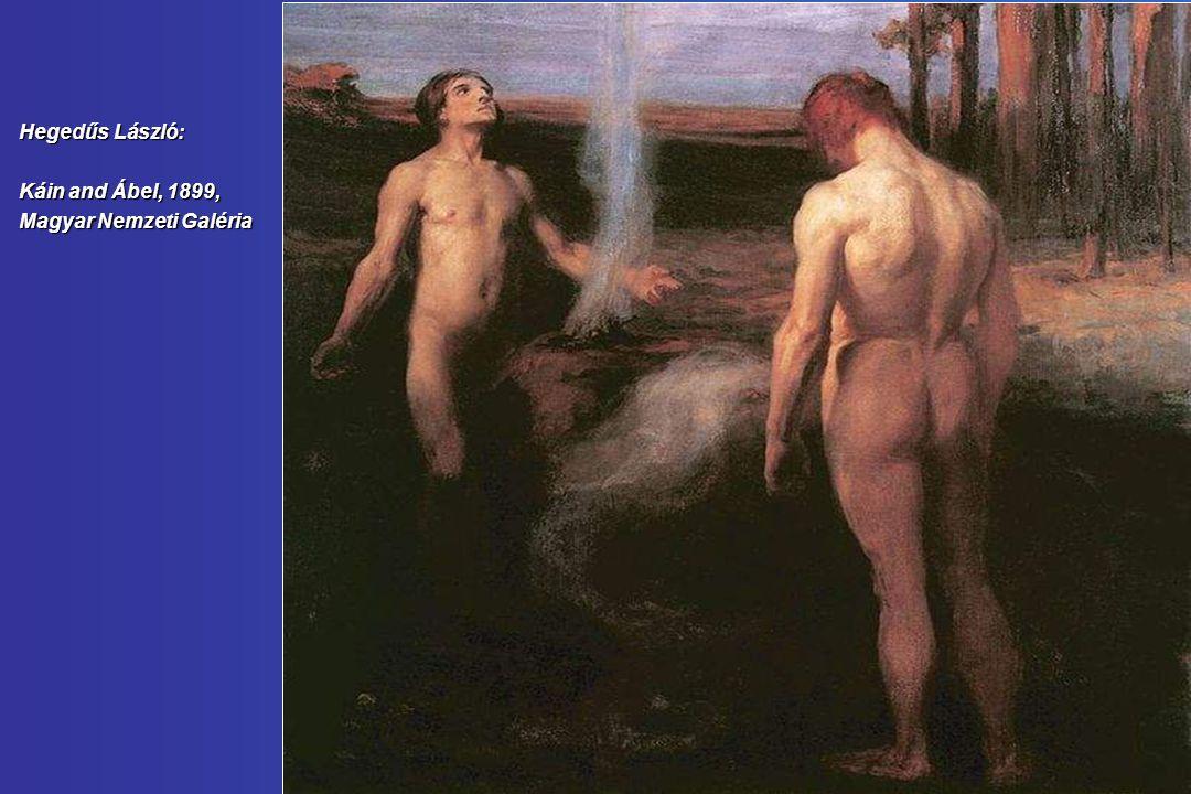 Hegedűs László: Káin and Ábel, 1899, Magyar Nemzeti Galéria
