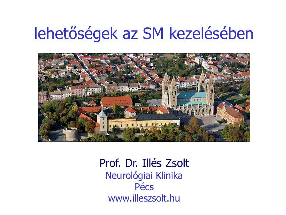 lehetőségek az SM kezelésében Prof. Dr. Illés Zsolt Neurológiai Klinika Pécs www.illeszsolt.hu