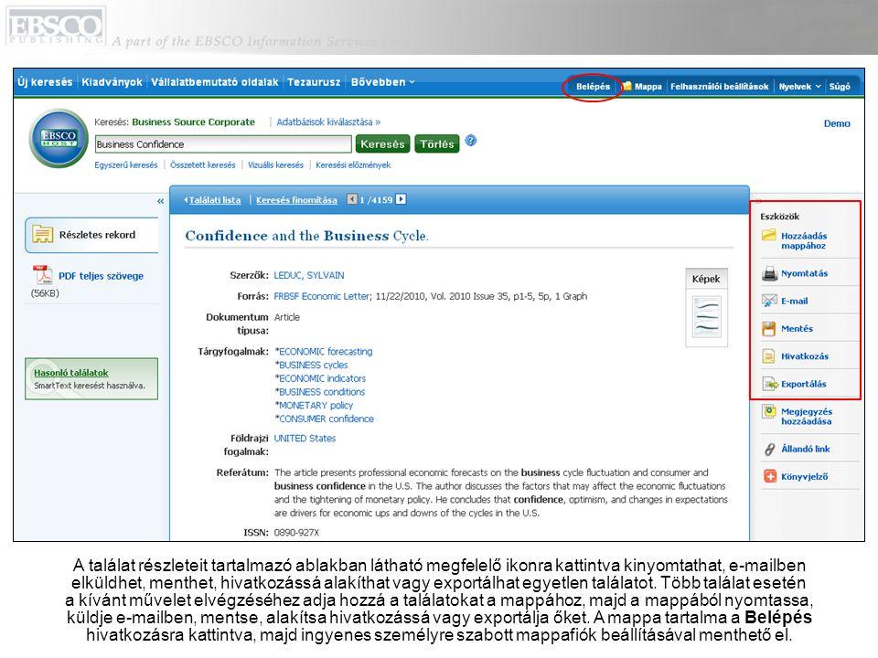 A Vállalatbemutató oldalak link segítségével Datamonitor jelentések ezreit érheti el PDF-formátumban.