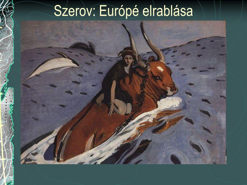Európa eredetmondája (mitológiája) A görög mítosz szerint Európé egy föníciai királylány. Zeusz bika képében elrabolja és Krétára viszi, ahol ő Minósz